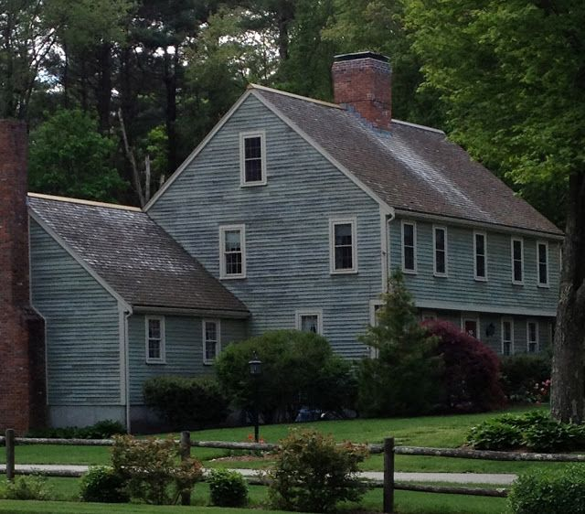 Saltbox Just Pllain Wonderful Colonial House Exteriors Colonial Exterior Saltbox Houses