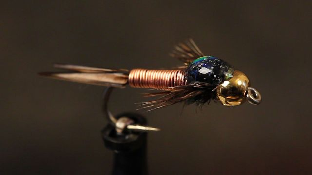 Detailed Instructions For Tying A Copper John Fly Tying