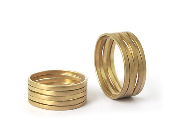 Besondere eheringe gold  Individuelle handgefertigte Trauringe und Hochzeitsringe | Susanne ...