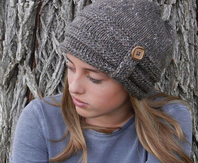 Tunisain Crochet Slouch Hat pattern by Kismet Crochet   Gorros ...