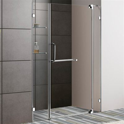 Vigo Vg6042 Frameless Shower Door W 3 8 Clear Glass With Images