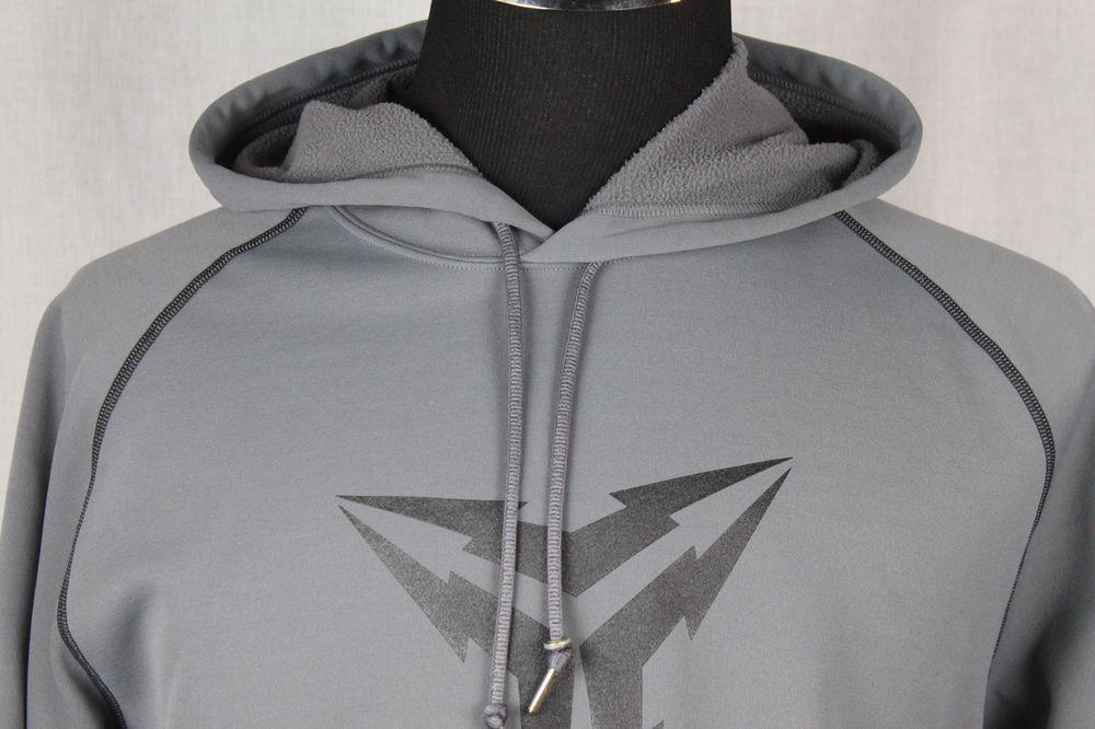 Nike Fit Therma Kobe Bryant Mens Pullover Gray Hoodie Jacket