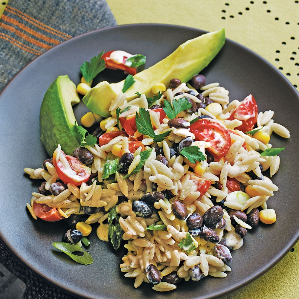 Orzo Salad with Spicy Buttermilk Dressing - Easy Pasta ... - photo#7