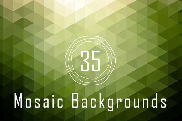 Check out Abstract 4K Mosaic Backgrounds by Inspirationfeed on Creative Market