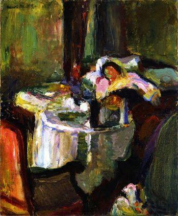 "1985 Virgina Museum of Fine Arts Lithograph of Henri Matisse /""Interieur/"" NOS"