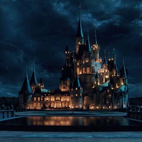 Good Night Beautyandthebeast Labellaylabestia Disney Beast S Castle Fantasy Castle Disney Sleeping Beauty