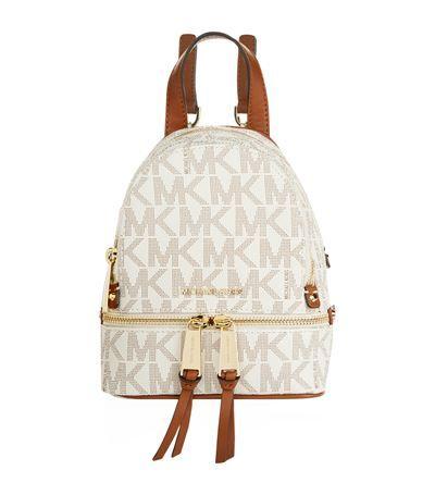 529f8615be53 MICHAEL MICHAEL KORS Mini Rhea Zip Backpack.  michaelmichaelkors  bags   leather  backpacks