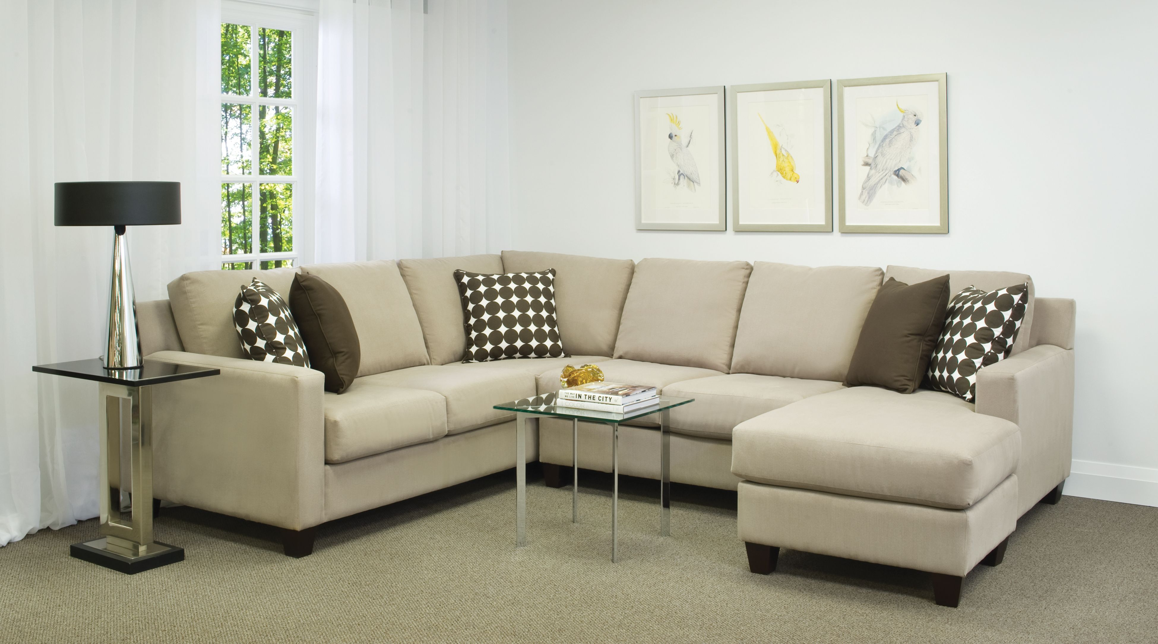 Beau Brentwood Classics Sectional Sofa   The Furniture You Select For The House  Will Assist In Conveying The Desired Class, Styl
