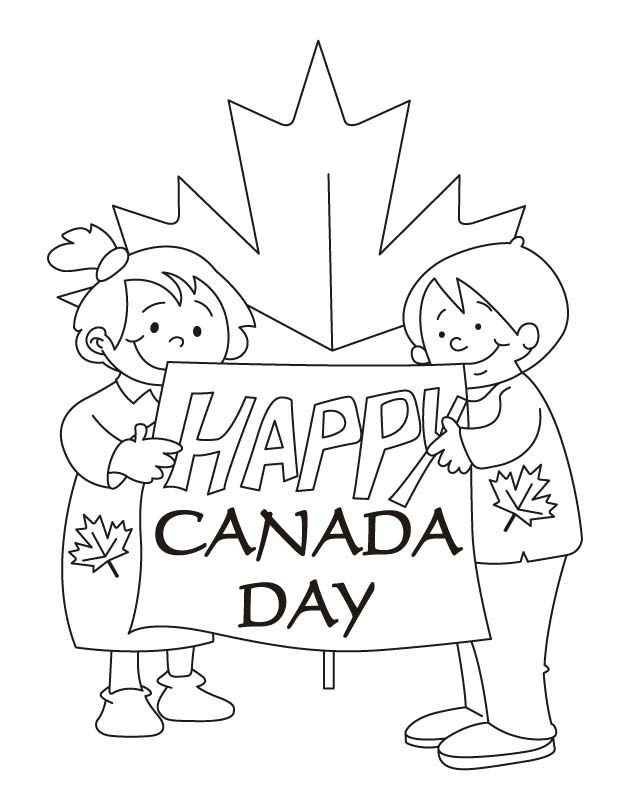 Our Hopes Are High Happy Canada Day Coloring Pages Canada Day