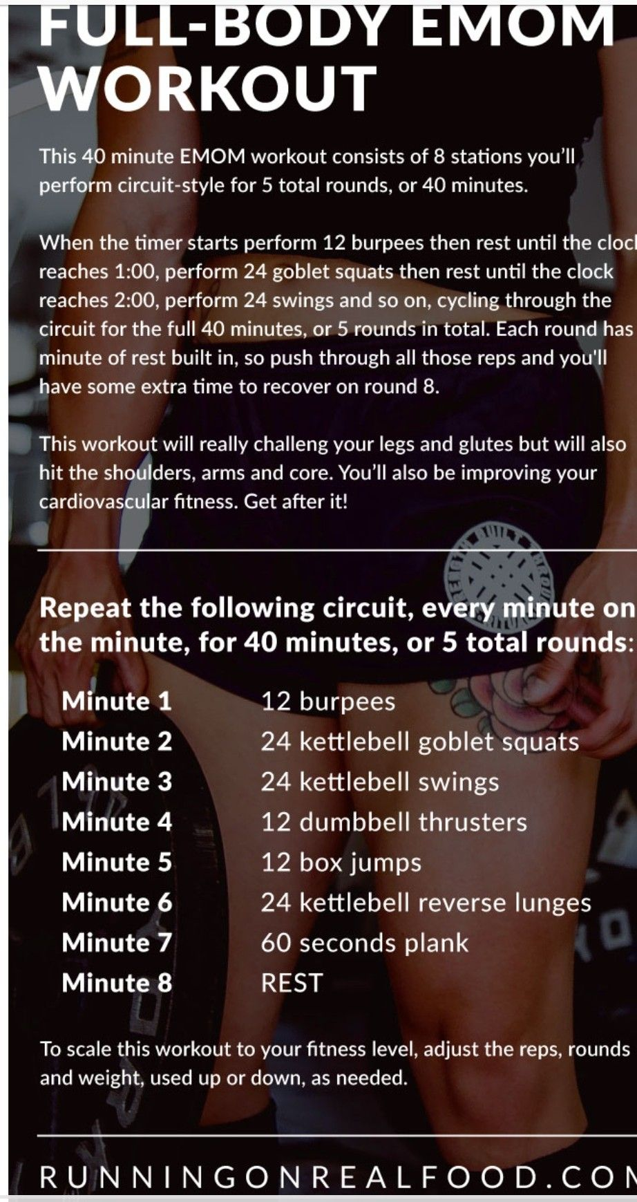40 Min Full Body Emom Crossfit Workouts At Home Emom Workout Amrap Workout