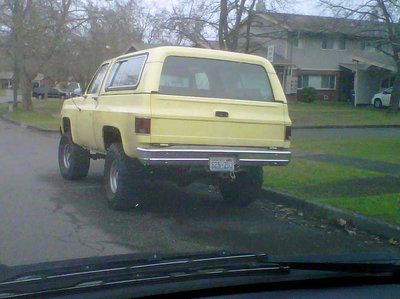77 Chevy K5 Blazer For Sale 3000 Obo Fort Lewis Wa