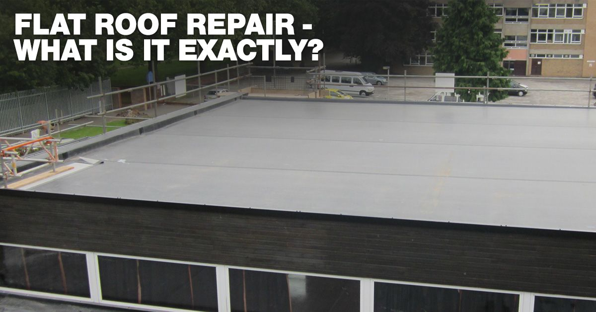 The Importance Of Hiring A Professional To Do Flat Roof Repair Roofing Roofers Flat Roof Repair Roof Repair Roof Problems