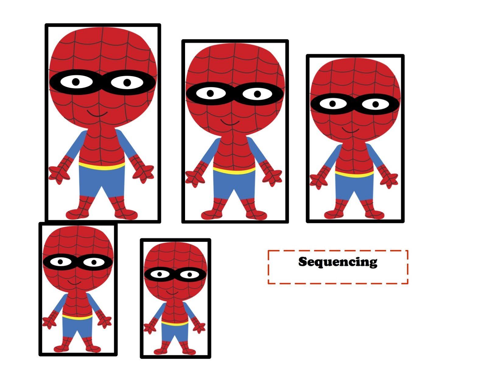 Preschool Printables Super Hero Printable 2