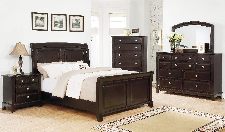 Kenton Dark Cherry Bedroom Set Bedroom Furniture Sets Cherry Bedroom Cherry Bedroom Set King Bedroom Sets
