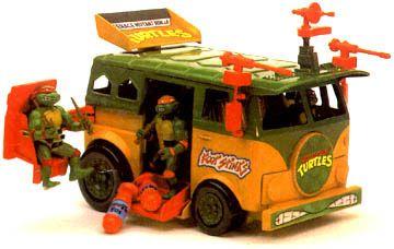 a794478d39858 Teenage Mutant Ninja Turtles Action Figures: Turtle Party Wagon ...
