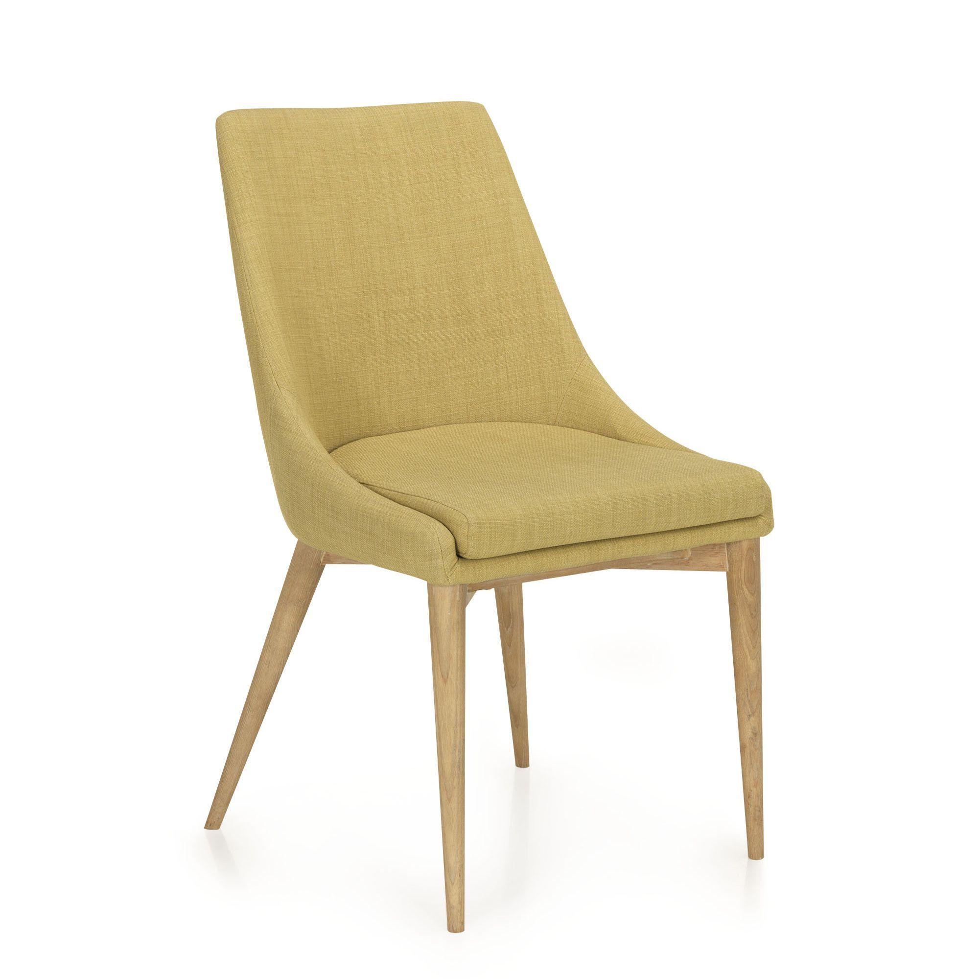 Chaise En Hva Et Frne Vert Esprit Scandinave