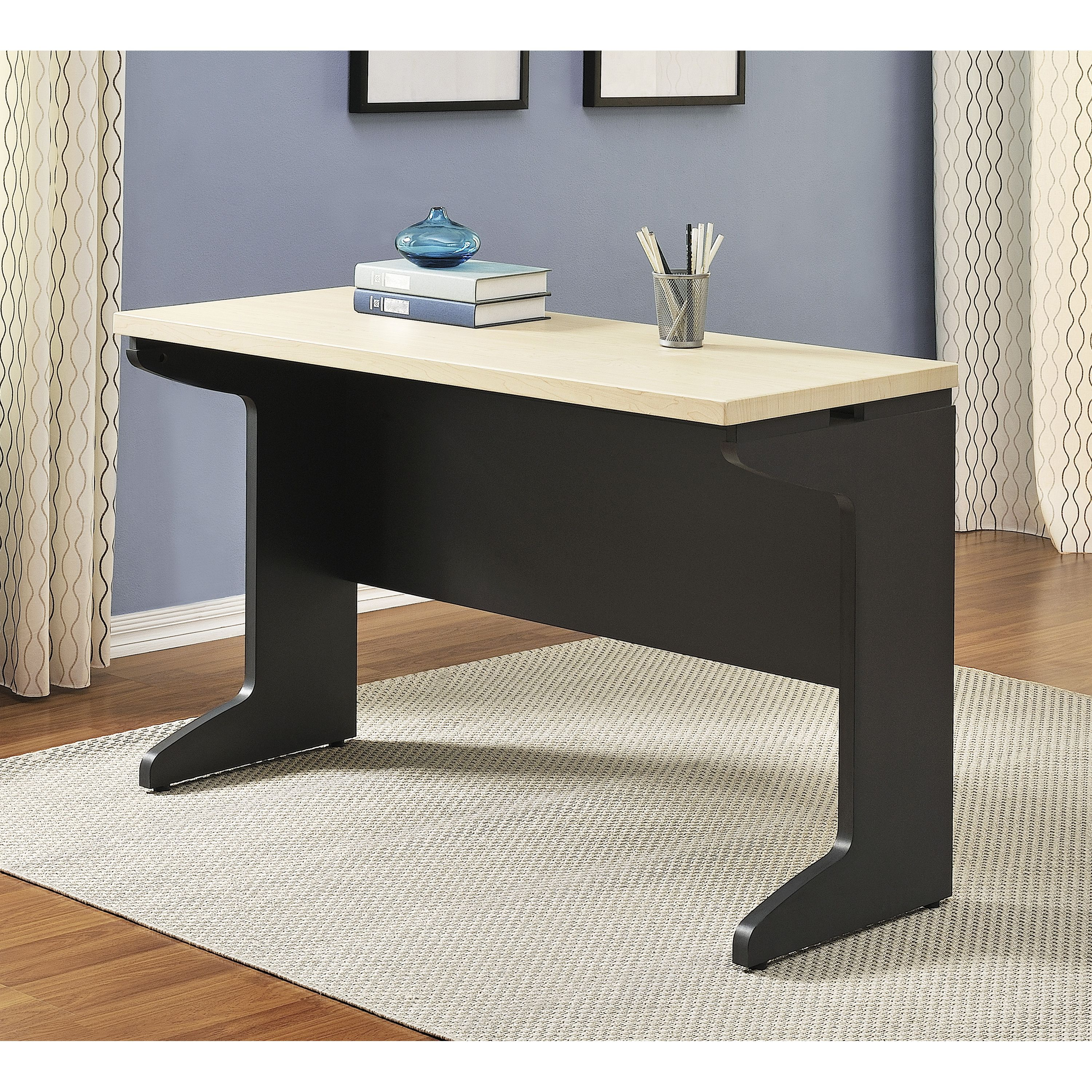 Executive office table with glass top instantly add a work surface to your office with this executive desk