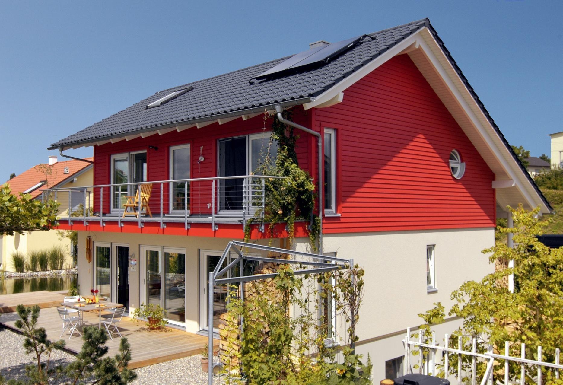 Home design bilder im inneren einfamilienhaus mit quadratischem grundriss  häuser  pinterest