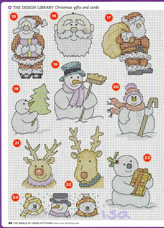 Gallery.ru / Фото #27 - The world of cross stitching 117 рождество 2006 - WhiteAngel