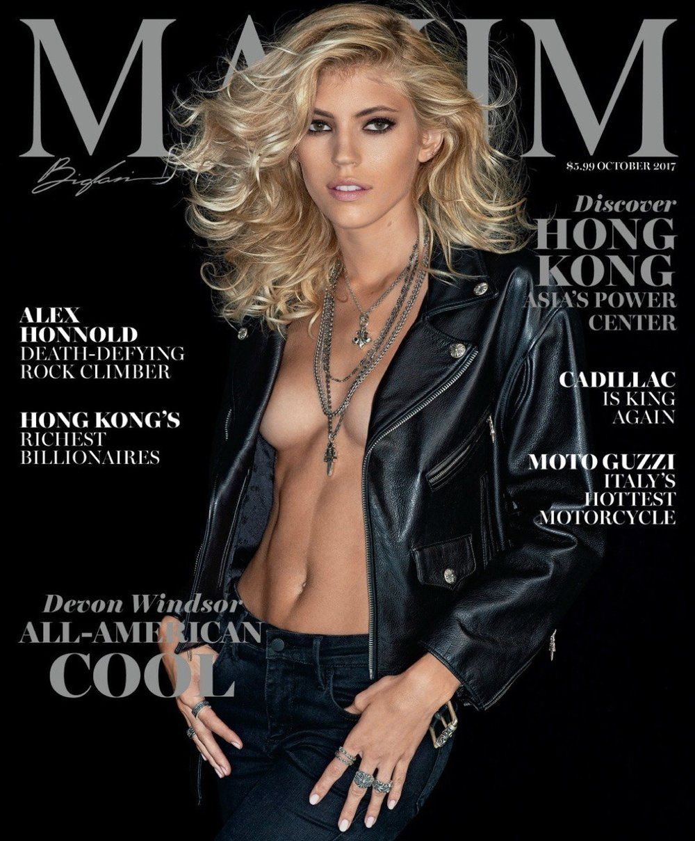 Model Devon Windsor S Magazine Covers And Editorials Including