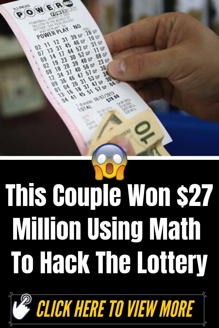 This Couple Won $27 Million Using Math To Hack The Lottery... #omg #wtf #bizarre #weird #couples #amazing #interesting
