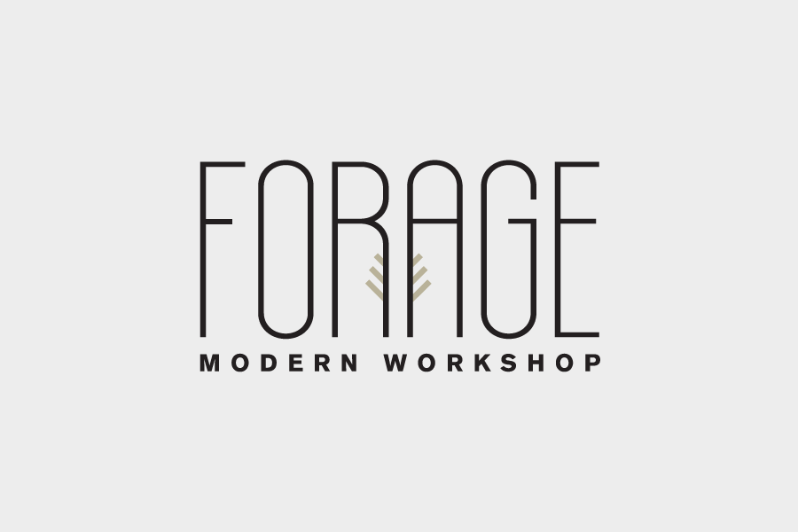Forage Modern Workshop Aesthetic Apparatus Lettering Modern Workshop