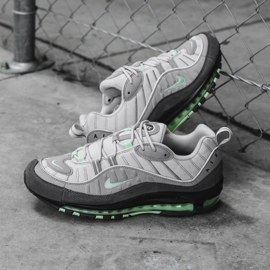 Faut il acheter la Nike Air Max 98 Fresh Mint Grey 640744