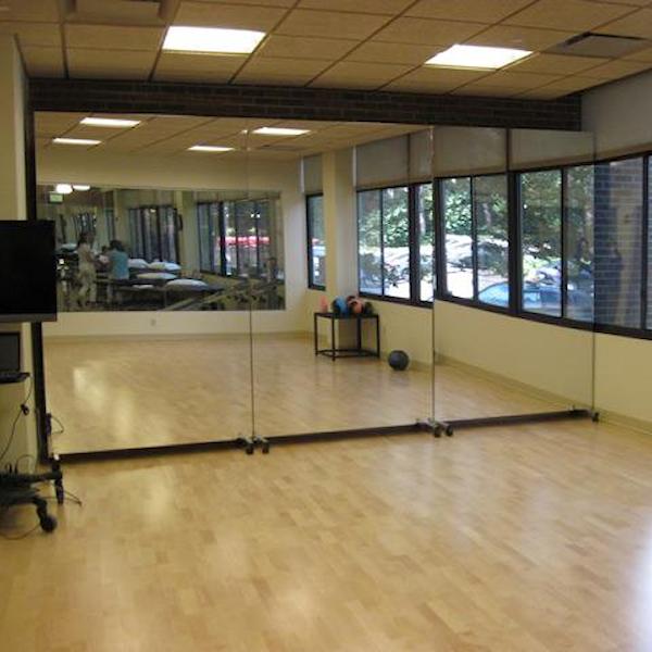 Glassless Rolling Dance Mirrors Dance Mirrors Dance Rooms Home Dance Studio