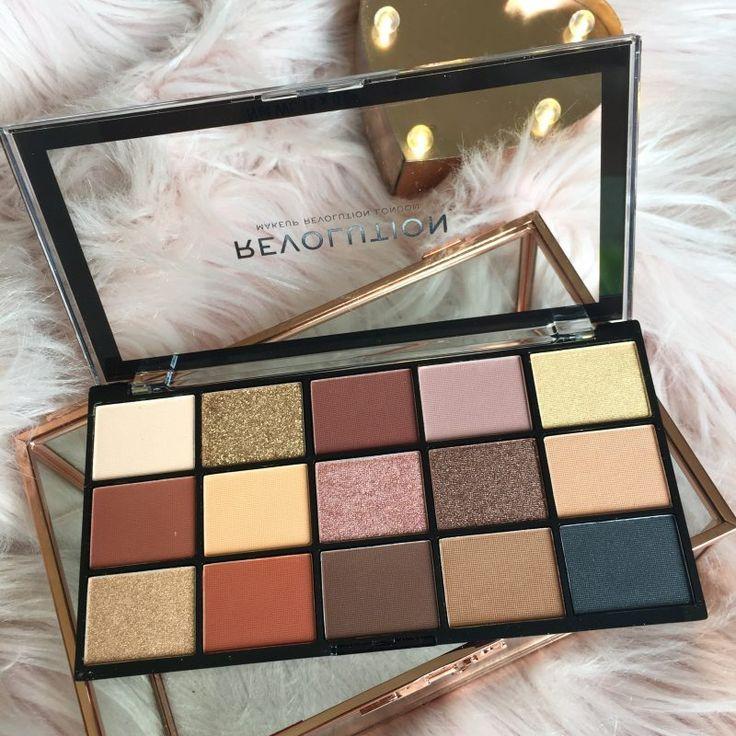 Makeup Revolution Palette Review #makeup #makeuprevolution #eyeshadowpalette