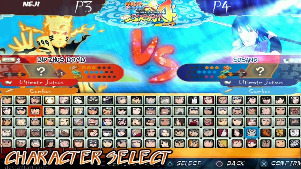 Ninja Storm 3 MUGEN 2014 PC Games Download Anime PC