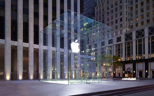 Apple Retail Store Fifth Avenue Apple Retail Store Apple Store Architecture Exterior