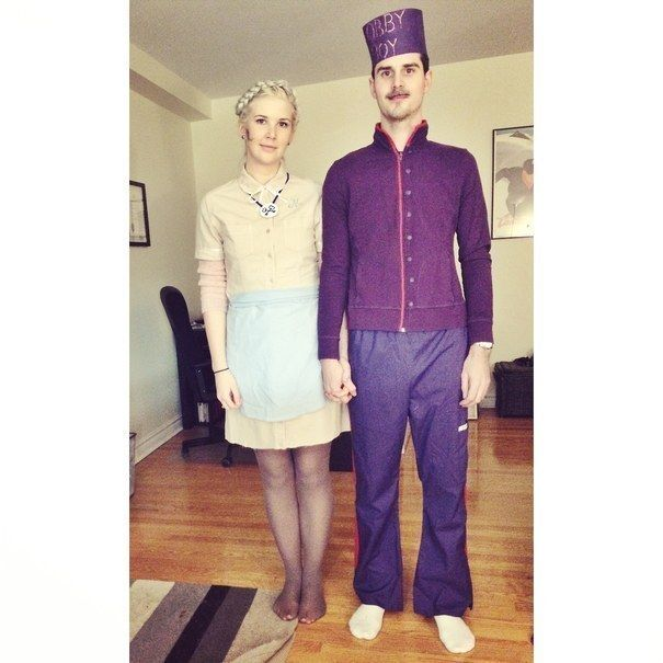 Agatha and Zero from The Grand Budapest Hotel | 31 Two-Person Halloween Costumes You'll Actually Want To Wear