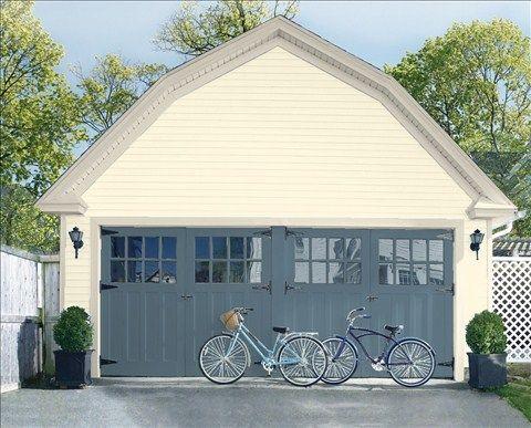 Choix de couleurs sauvegardés - peinture de porte de garage