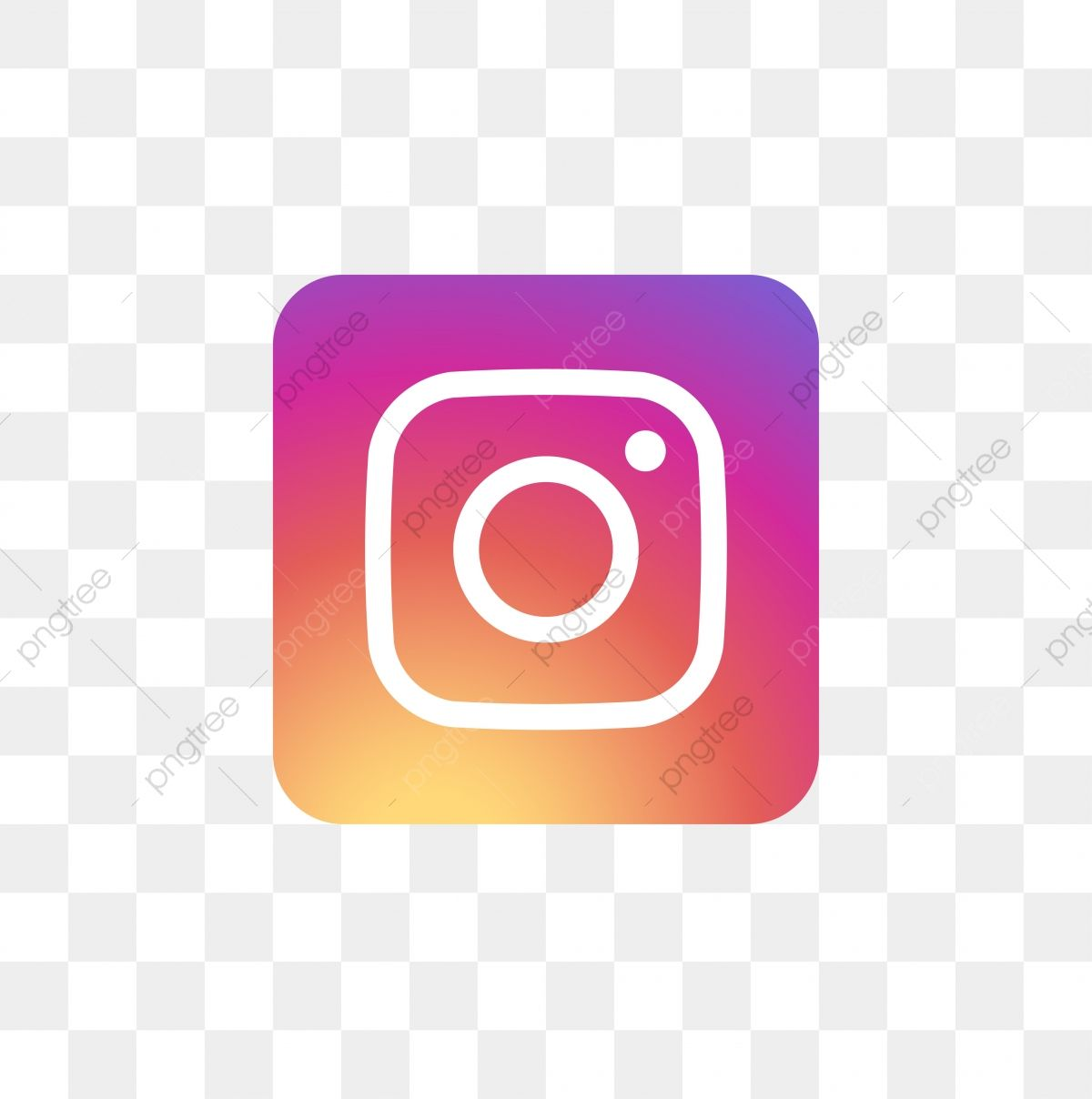 Instagram Social Media Icon Design Template Vector, Icon