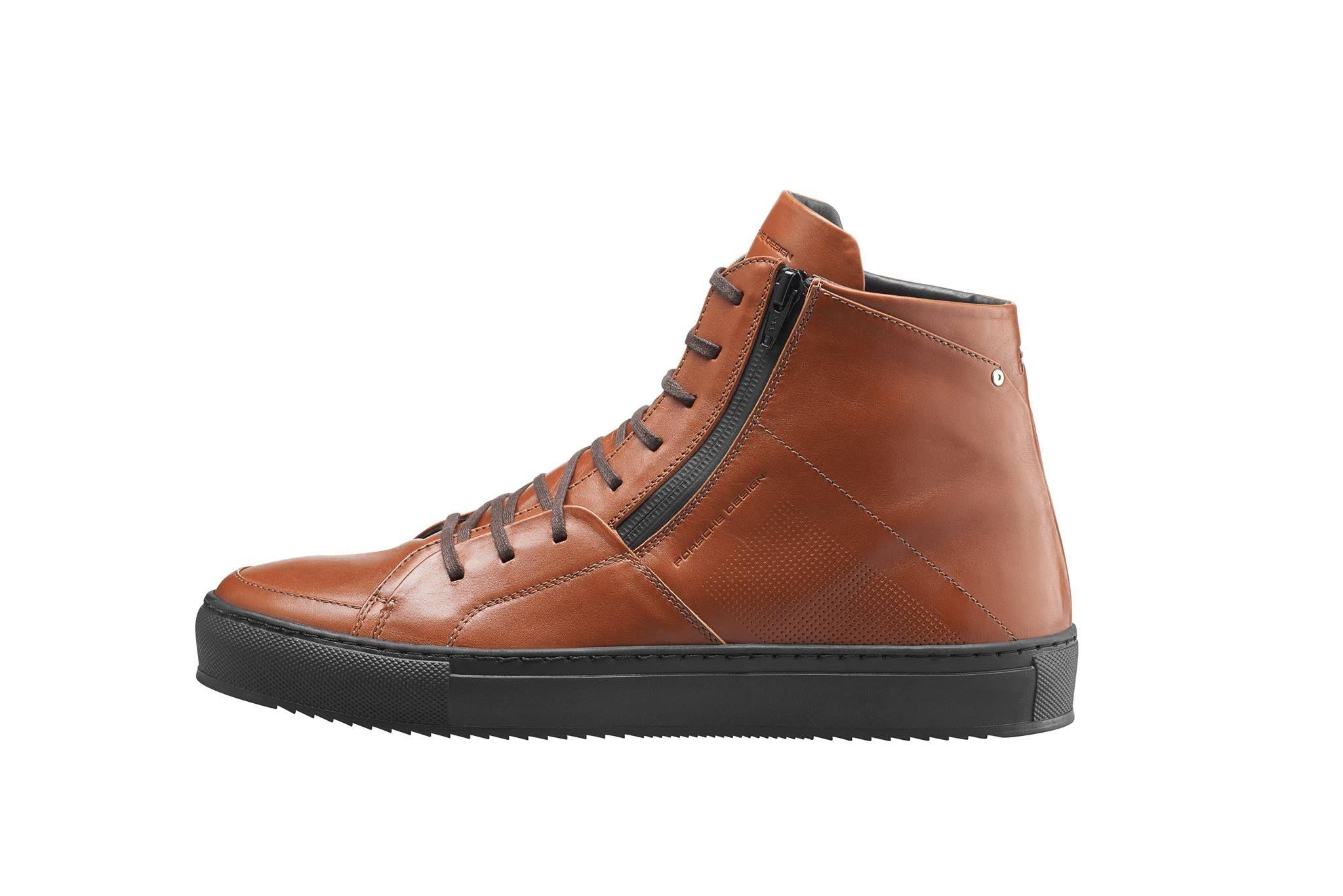 Fashionable Phoenix Ml1 Leather Boots By Porsche Design For A Clear Attitude Leather Boots Men S Shoes Porsche Design