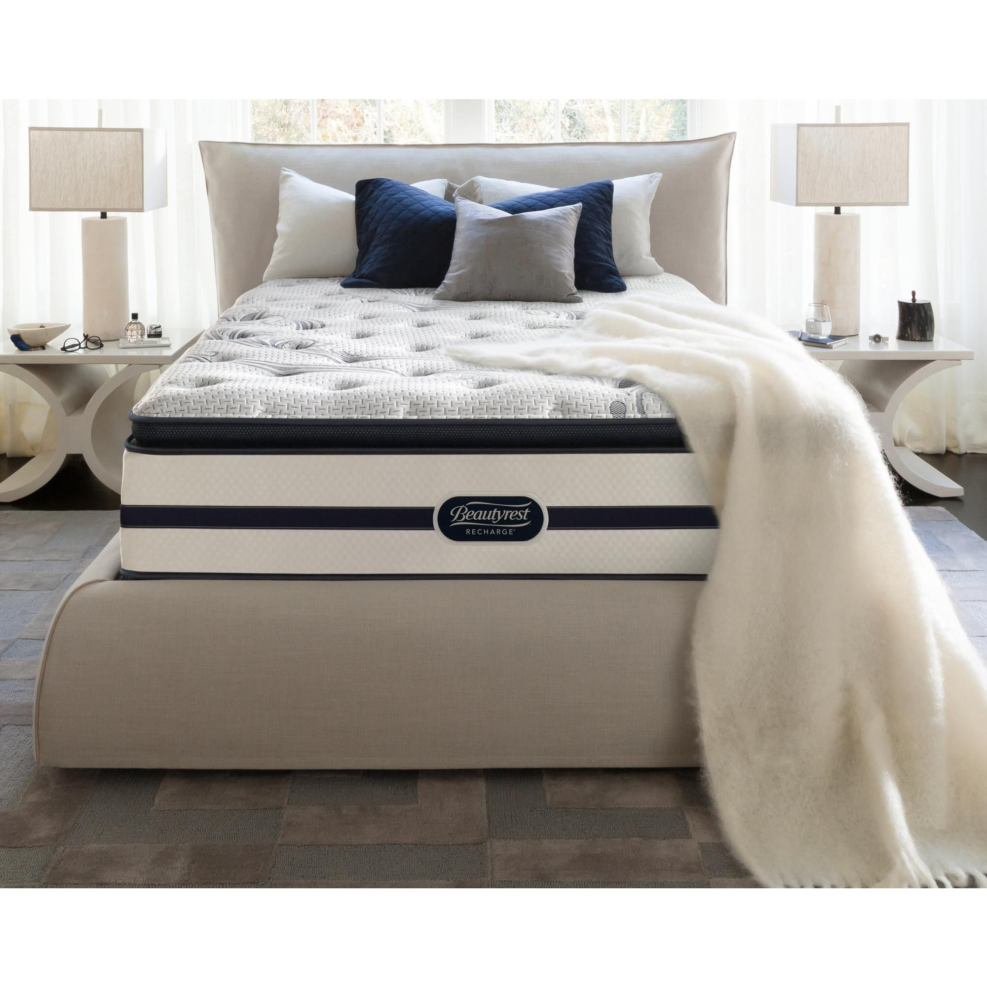 Indulge in a Rejuvenating Sleep on the Beautyrest Recharge