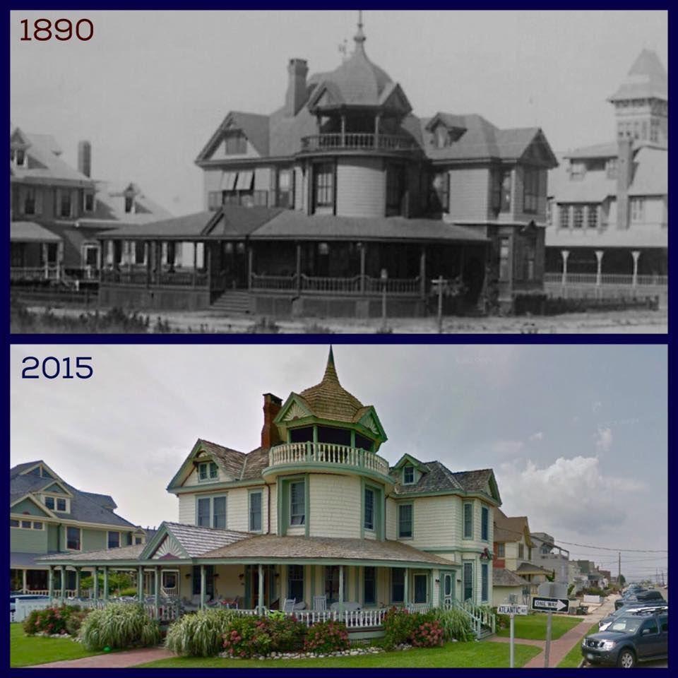 Converse Cottage 504 Atlantic Ave 1890 2015 Beach Haven Long Beach Island Nj Shore