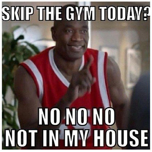 Did you train today???