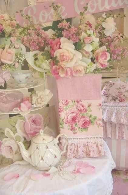Cottage Style Charm | ❦ Rose Cottage ❦ | Pinterest) | Pink Rose ...