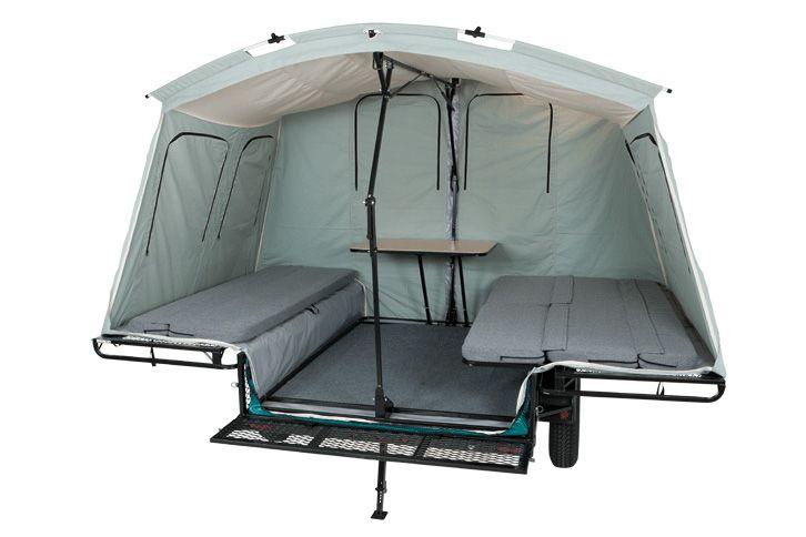 6x8 Tent Trailer | Jumping Jack Trailers  sc 1 st  Pinterest & 6x8 Tent Trailer | Jumping Jack Trailers | Camping! | Pinterest ...