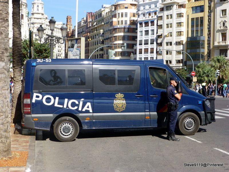 Policia @ Valencia, Spain