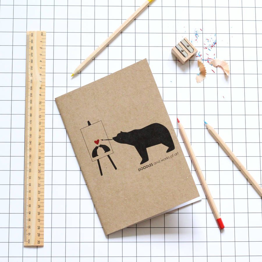 Doodles And Works Of Art Notebook