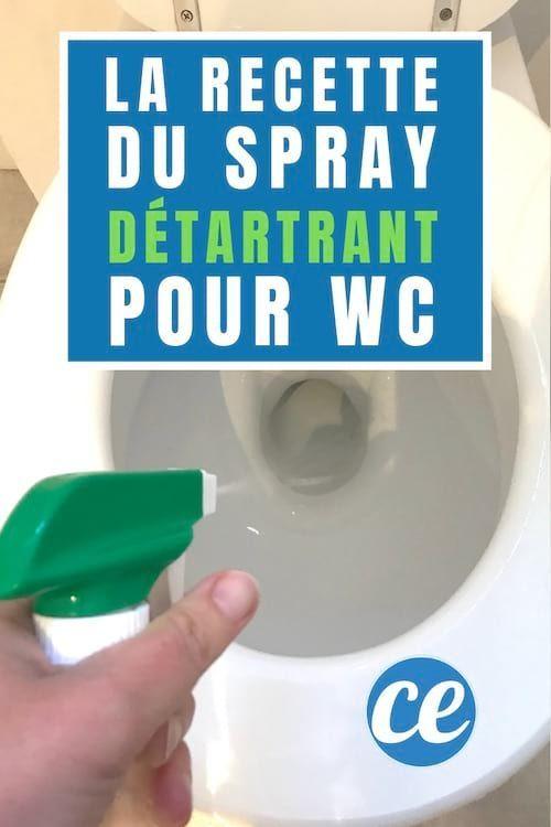 Wc Tres Entartres Le Spray Detartrant Maison Puissant Pret En 1