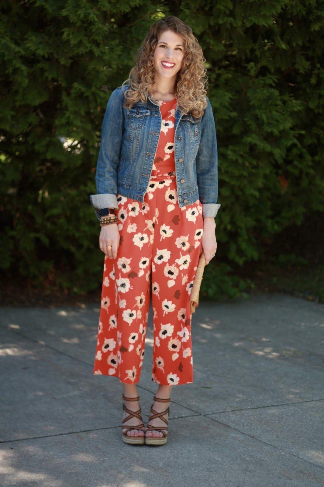 7edf252ad21 Orange Floral Jumpsuit - I do deClaire