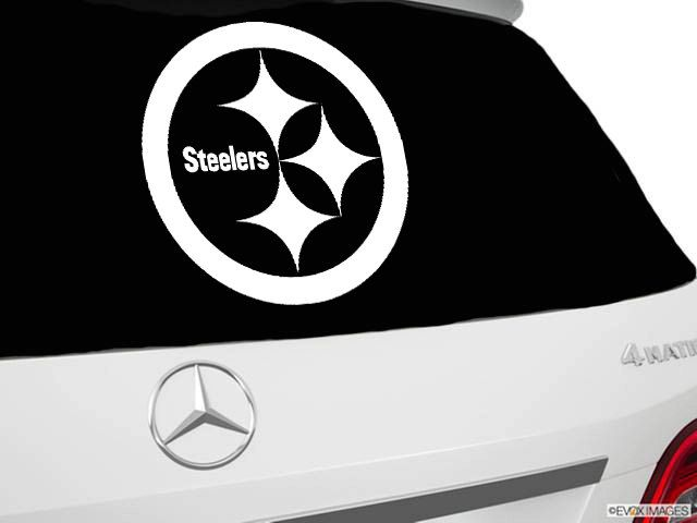Pittsburgh sttelers inspired car window decal sttelers inspired car decal nfl inspired vinyl car