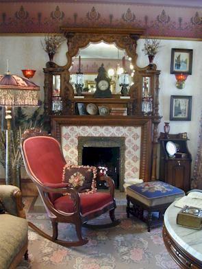 authentic victorian home interior aquest for the authentic victorian victorian decor. Black Bedroom Furniture Sets. Home Design Ideas