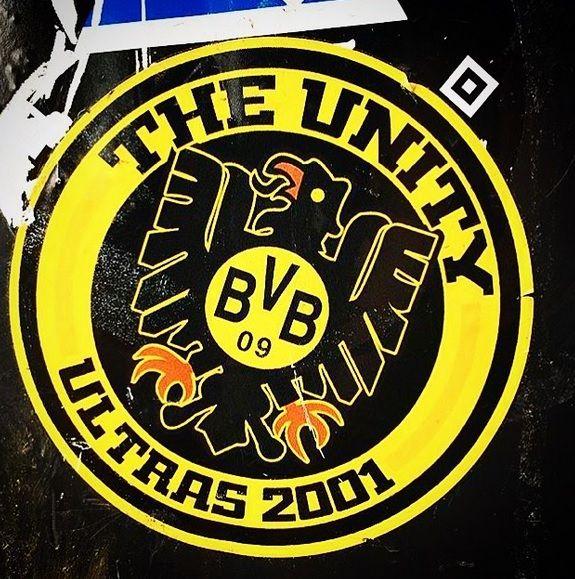Bvb Ultra Sticker The Beautiful Game Borussia Dortmund