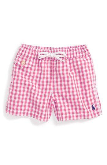 d82c535786 Ralph Lauren Swim Trunks (Baby Boys) available at #Nordstrom | Baby ...