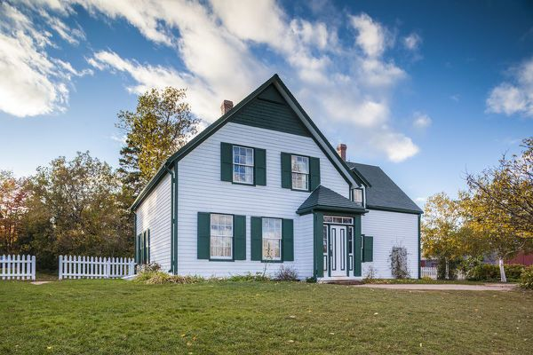 Anne Of Green Gables House On Prince Edward Island White