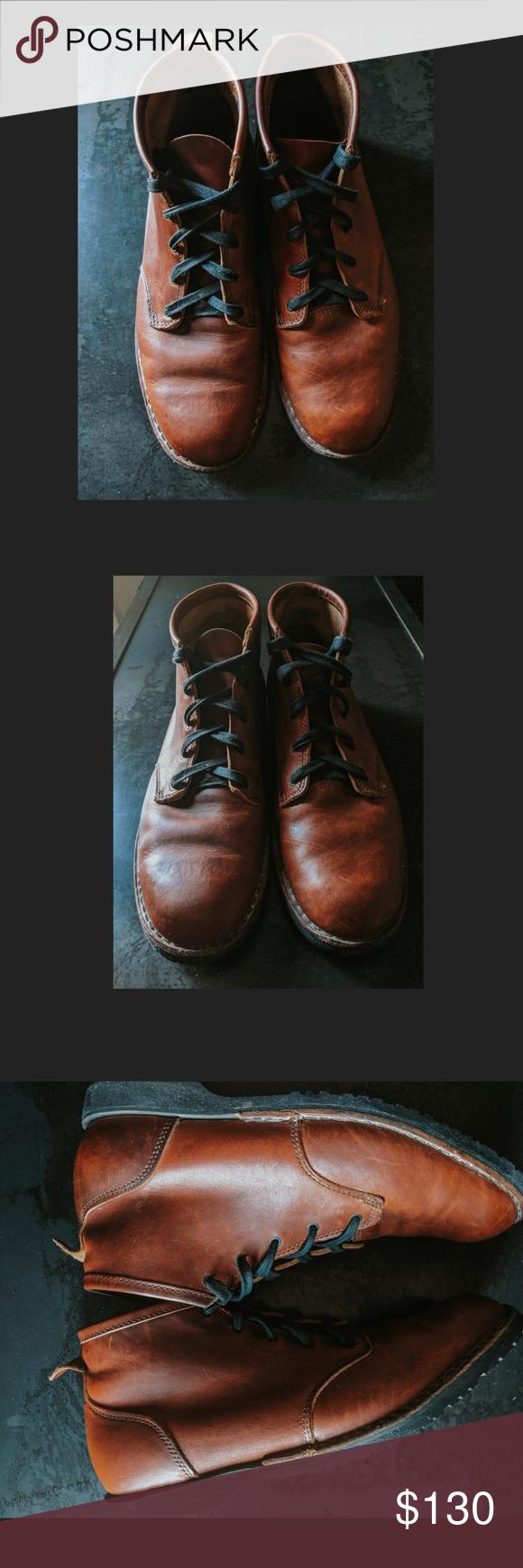 Heritage sneaker met leren details